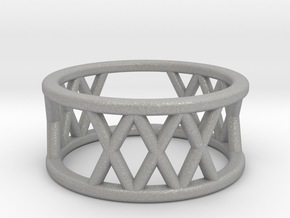XXX Ring Size-4 in Aluminum