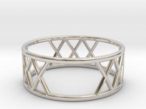 XXX Ring Size-8 in Platinum