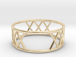 XXX Ring SIZE-9 in 14K Yellow Gold
