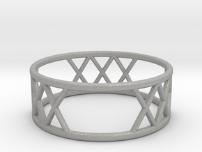 XXX Ring SIZE-9 in Aluminum