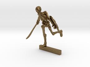 28mm Harryhausen-style SKELETON mini in Natural Bronze