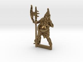 28mm mini EXECUTIONER  rpg, D&D  in Natural Bronze