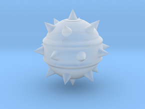 High-Poly Stickybomb (Solid) in Smooth Fine Detail Plastic: Extra Small