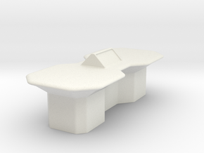 Engineering Table (Star Trek Next Generation) in White Natural Versatile Plastic: 1:30