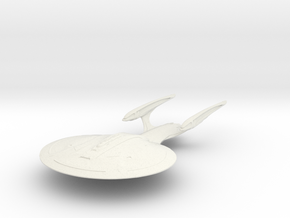 Sohunt Class  BattleShip in White Natural Versatile Plastic