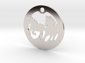 FREEDOM (precious metal earring/pendant) in Platinum