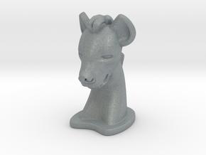 Hyena in Polished Metallic Plastic