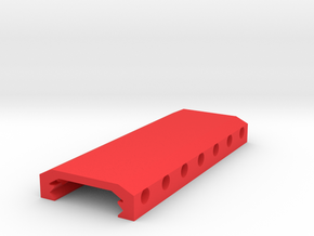 M4 Quad Rail Stabilizer in Red Processed Versatile Plastic