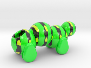 Caterpillar Body in Glossy Full Color Sandstone