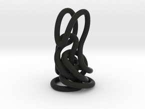 Knot in Black Strong & Flexible