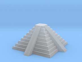 Inca Pyramid. Pedestal in Smooth Fine Detail Plastic