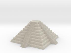 Inca Pyramid. Pedestal in Sandstone