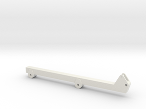 Korund Arm 7,5m / 9m in White Natural Versatile Plastic