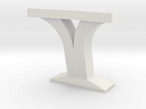 Console Type 17 (Star Trek) in White Natural Versatile Plastic: 1:30