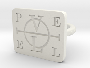 Enochian Adjustable in White Natural Versatile Plastic