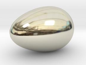 The Golden Goose Nest Egg in 14k White Gold