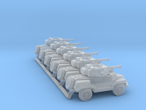 Marmon-Herrington Mk. IV pack of 6x in Smooth Fine Detail Plastic: 1:350