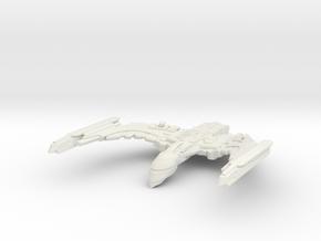Romulan Dor Class  AttackCruiser in White Strong & Flexible