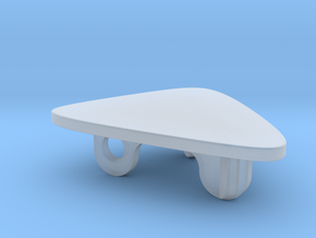 Deco Coffee Table in Smooth Fine Detail Plastic: 1:48 - O