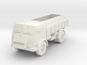 1/87 Fiat 665 NM Scudato in White Natural Versatile Plastic