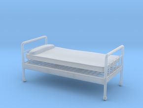 Bed 01.  1:24 scale in Smooth Fine Detail Plastic