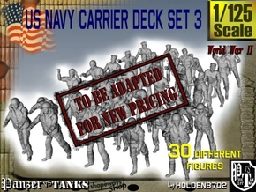 1/125 US Navy Carrier Deck Set 3 in Transparent Acrylic