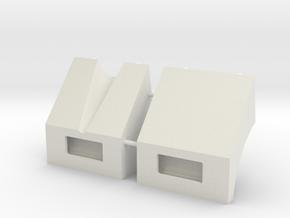 1/16 scale M113 Mudguards in White Natural Versatile Plastic