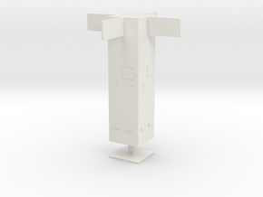 Column, Intersection (Space: 1999), 1/30 in White Natural Versatile Plastic