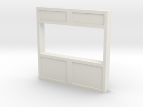 Wall, Interior, Window - Large (Space: 1999) 1/30 in White Natural Versatile Plastic