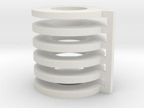 AEG Motor Spacer X6 in White Natural Versatile Plastic