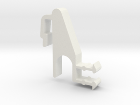 Blind Valance Clip 09R in White Natural Versatile Plastic