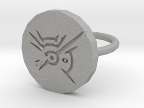 Dishonored Ring in Aluminum