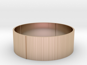 Band Ring in 14k Rose Gold