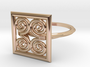 Symbol Of Strength  SMK Contest in 14k Rose Gold