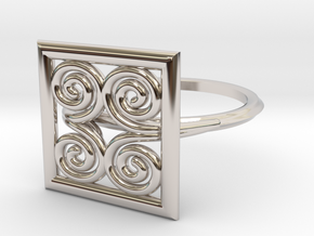 Symbol Of Strength  SMK Contest in Rhodium Plated Brass