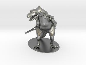 K'Chain Che'Malle Miniature in Natural Silver: 1:55