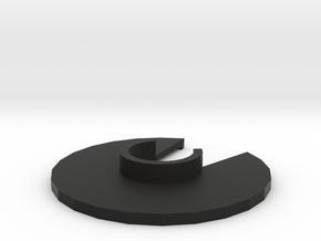 Joystick Spacer - For Saitek x52 in Black Natural Versatile Plastic
