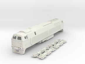 Nohab MZ III class 1/87 in White Natural Versatile Plastic