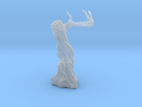 Twisted Tree - Tabletop Prop in Smooth Fine Detail Plastic: 28mm