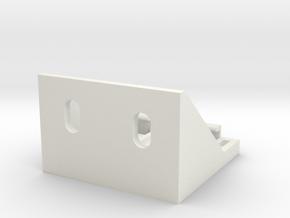 Shade Bracket 318 Luminette A in White Natural Versatile Plastic