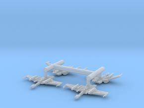 5k Romulan Destroyer Section in Smooth Fine Detail Plastic