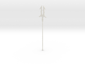 """BotW"" Thunderspear in White Strong & Flexible: 1:12"