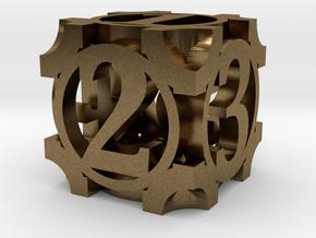 Daedal D6 - 16mm die in Natural Bronze