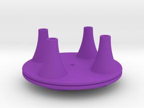 Tingling Toy Bottom in Purple Processed Versatile Plastic