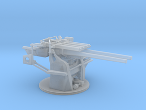"1/96 IJN 12.7 cm/40 (5"") Type 89 Naval Gun in Smooth Fine Detail Plastic"
