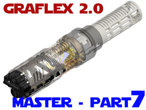 Graflex2.0 - Master Chassis - 7/7 Soundboard in White Natural Versatile Plastic