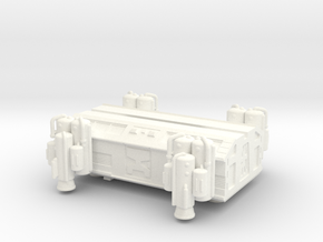 Konami Space 1999 Heavy Lift Booster And Pod in White Processed Versatile Plastic