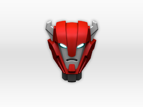 Cliffjumper head for TR Legends Roadburn in Smooth Fine Detail Plastic