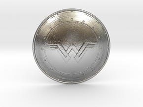 Wonder Woman's Shield in Natural Silver