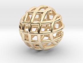 Rondure Pendant in 14K Yellow Gold